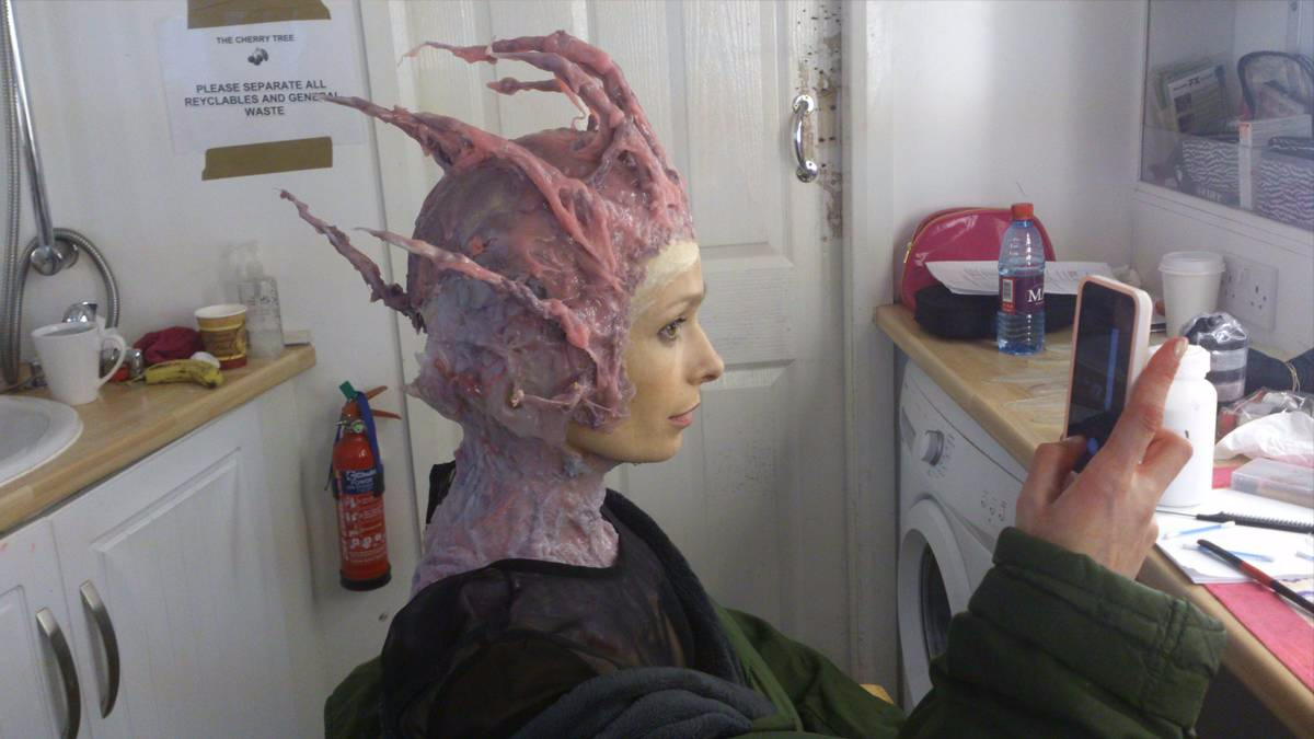 anna walton the cherry tree prosthetic make up bowsie workshop