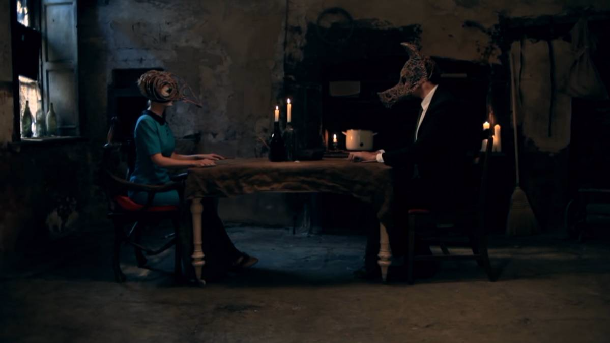 james vincent mcmorrow sparrow an wolf music video still bowsi workshop mask design